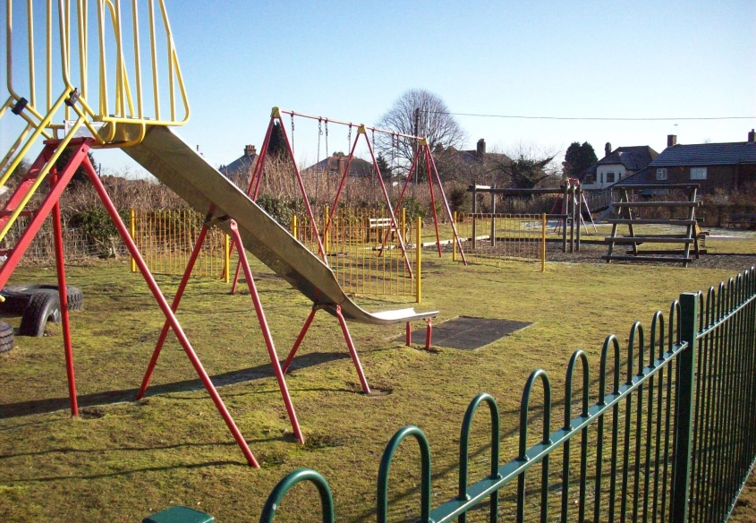 Playground at Smeeth Playing Field